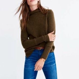 Madewell Turtleneck Sweater in Coziest Yarn